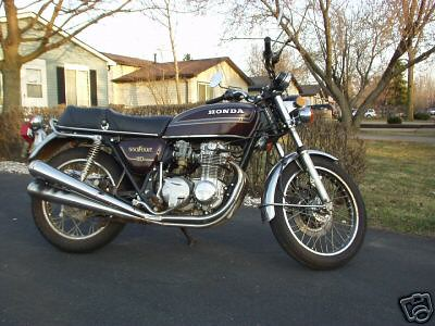 1978 Honda 550 4-cylinder   A bike for sale on ebay which is…   Flickr