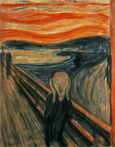 edvard munch - the scream  1893 | by oddsock