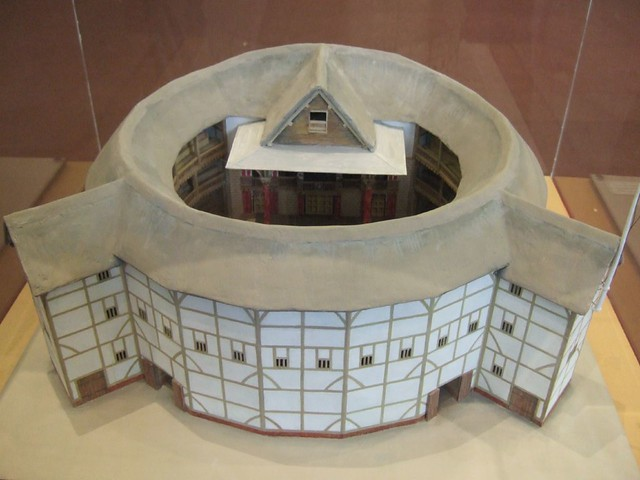 Model of shakespeare 39 s globe theatre ben sutherland flickr for Theatre model