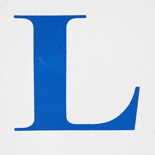 the letter l - 500×500