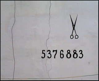 5376883 pairs of scissors on the wall, 5376883 pairs of scissors, take one down, pass it around, 5376882 pairs of scissors on the wall | by Tal Bright