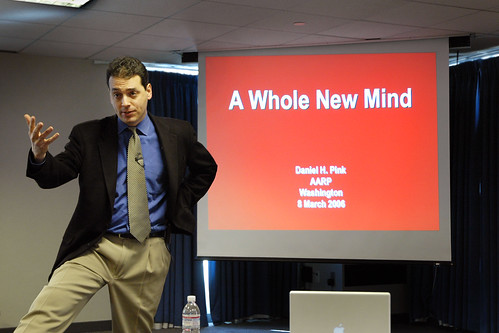 daniel pink s a whole new mind A whole new mind why right brainers will rule the future  by daniel h pink a doctor, lawyer or accountant  it's about taking advantage of our whole mind.