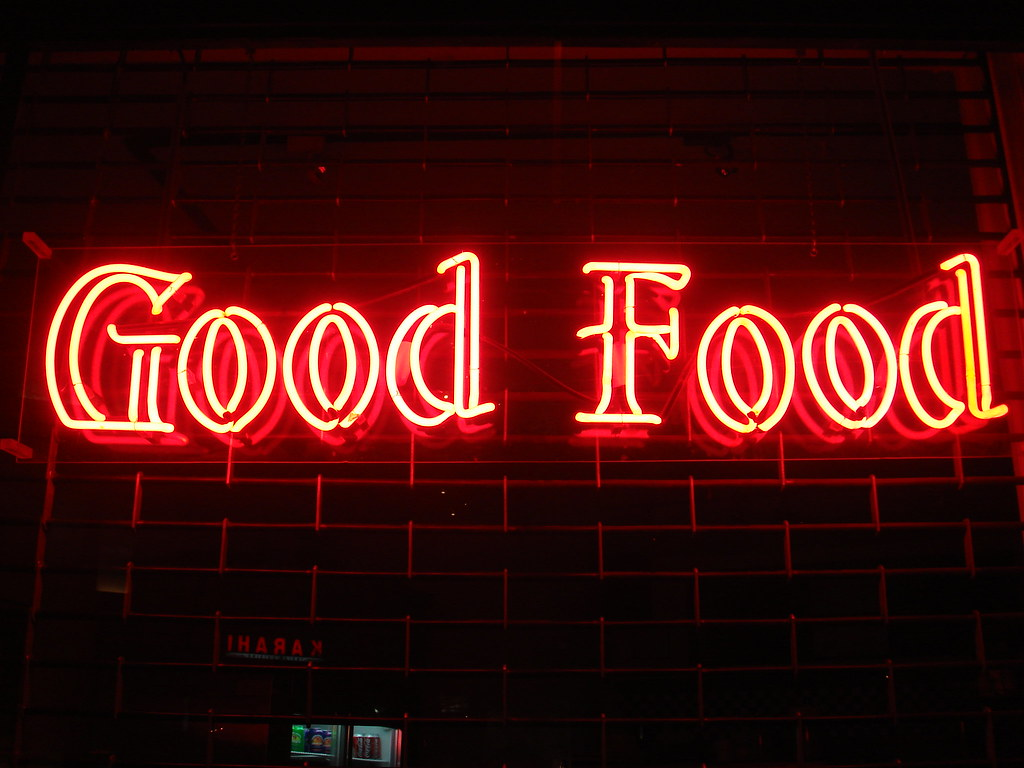 Good Food With B
