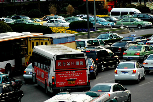 Shanghai Traffic | by Shanghai Sky