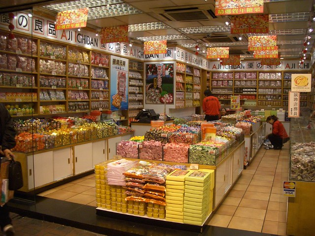 Candy Store That Sell Chocolate Covered Peanuts With Rum Flavor