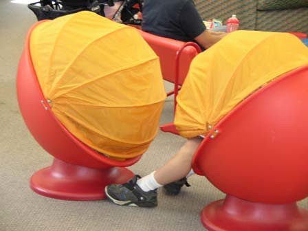 ... Egg Chairs From Ikea. Kids Love U0027em | By South Jersey Regional Library  Cooperative