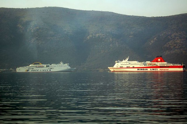 Ferries From Corfu To Other Greek Islands
