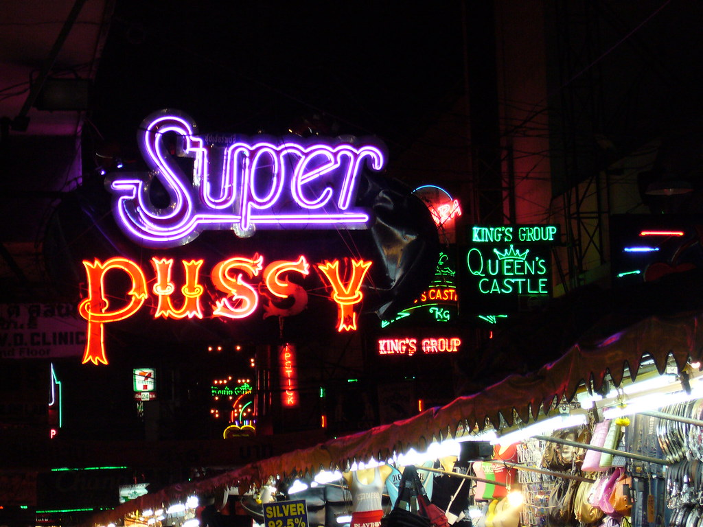 super pussy in pat pong, bangkok | one of the many brilliant… | flickr