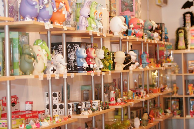 Toys For Sale At Rotofugi Design Toy Store And Gallery 1 Flickr