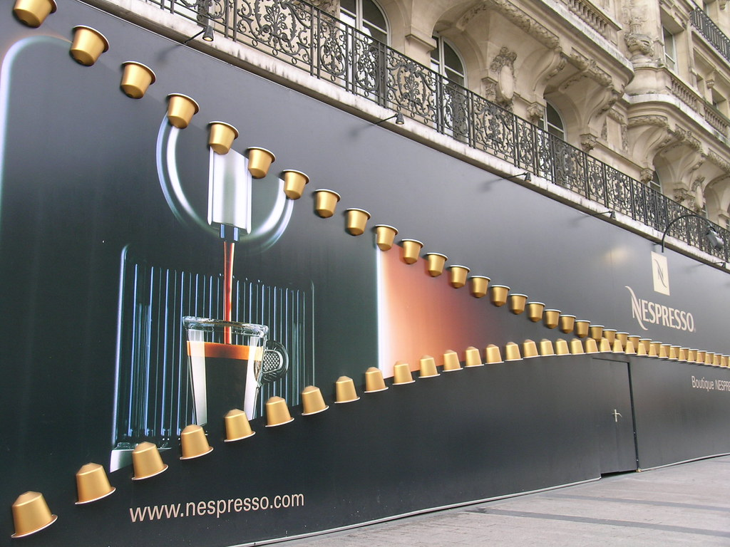 nespresso flagship store paris france the nespresso bo flickr. Black Bedroom Furniture Sets. Home Design Ideas