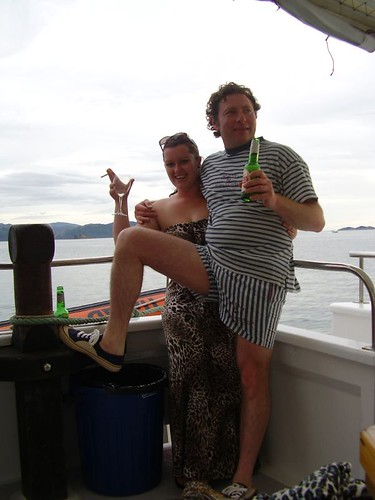 Jacinta and Dave on the Loveboat | by Jo Hubris