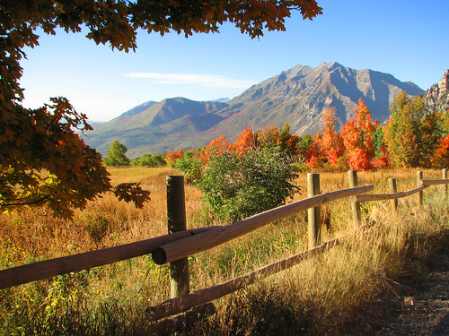 Timpanogos Fence | by Aaron Barker