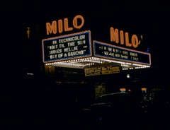 Milo Theater 1950 | by Joe+Jeanette Archie