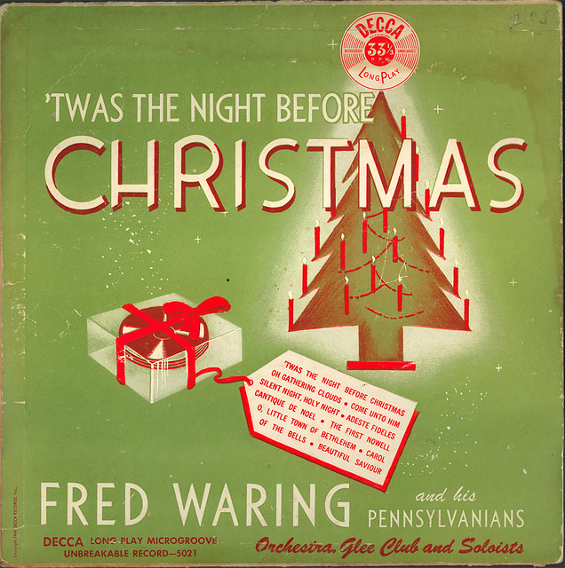 the night before christmas fred waring by wardomatic - Fred Christmas