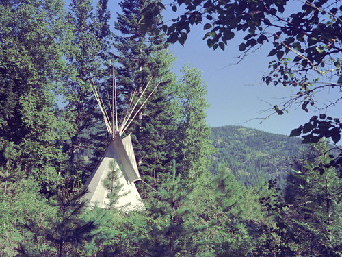 tipi site | by tipi dweller