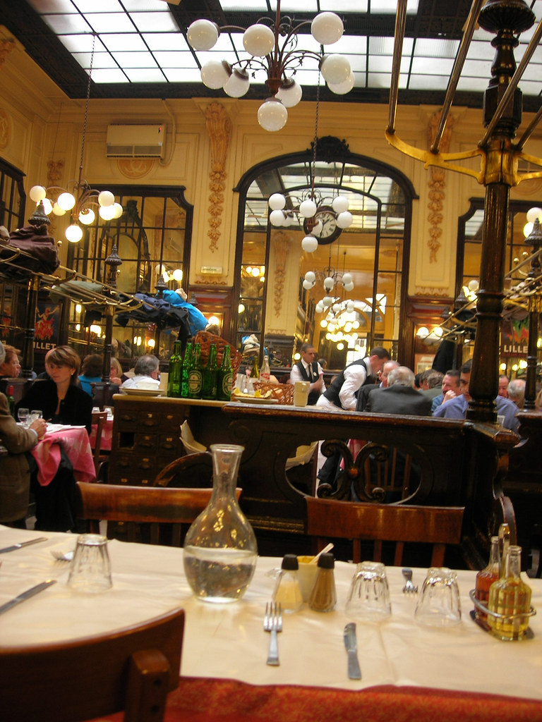 Paris Restaurants Cafes