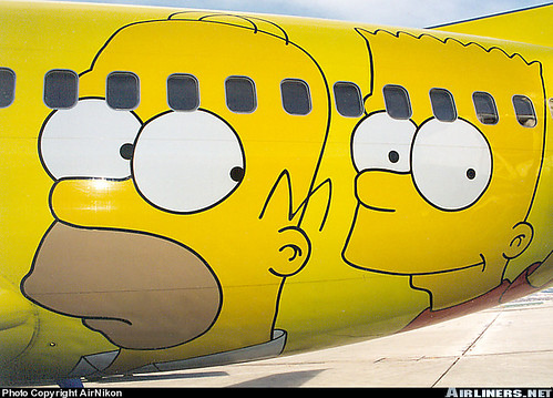Avion de los Simpsons 2 | by orzalaga
