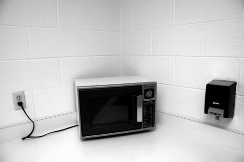 microwave in the corner | by limonada