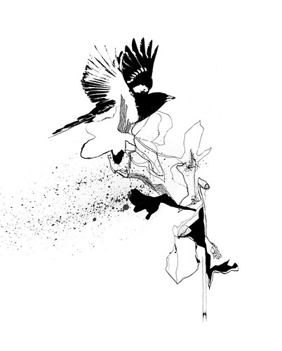 U0026quot;bird Floweru0026quot; Sketch 2 | Some Sketches / Ideas For A Friendu0026#39;u2026 | Flickr