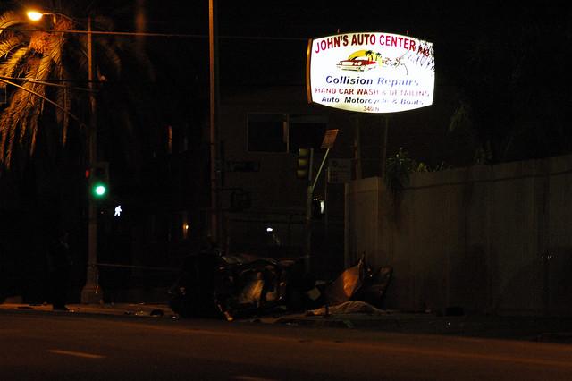 Lapd Car Crash