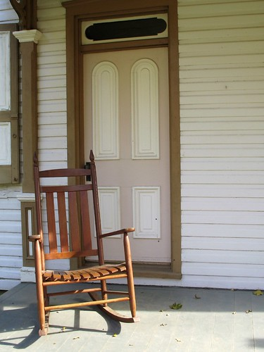 Chair on porch | by mirsasha