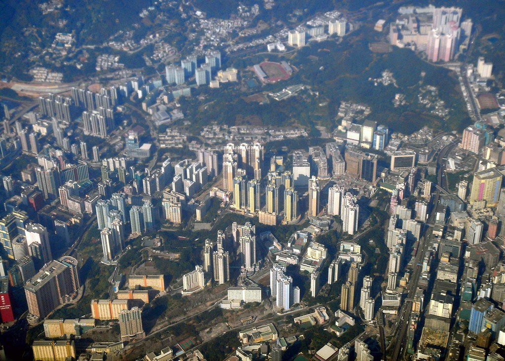 Bird's eye view of Hong Kong | C H Ou | Flickr