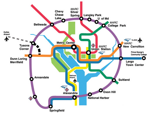 Washington dc Metro Area Map Purple Line Map dc Metro | by