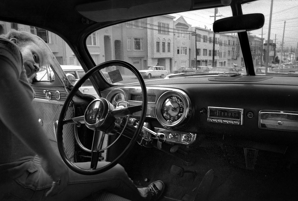 Richmond district San Francisco 1952 Hudson