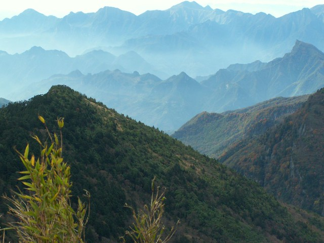Mountains in Shennongjia