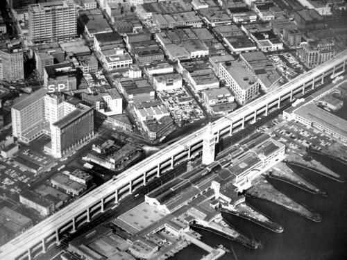 Ferry Building Construction San Francisco