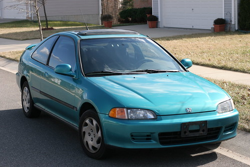 good bye to a good car i bought this 1994 honda civic ex c flickr. Black Bedroom Furniture Sets. Home Design Ideas