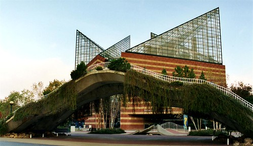 Tennessee Aquarium Footbridge Chattanooga Bridgepixing