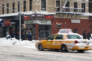 Snowy Cab | by CarbonNYC [in SF!]