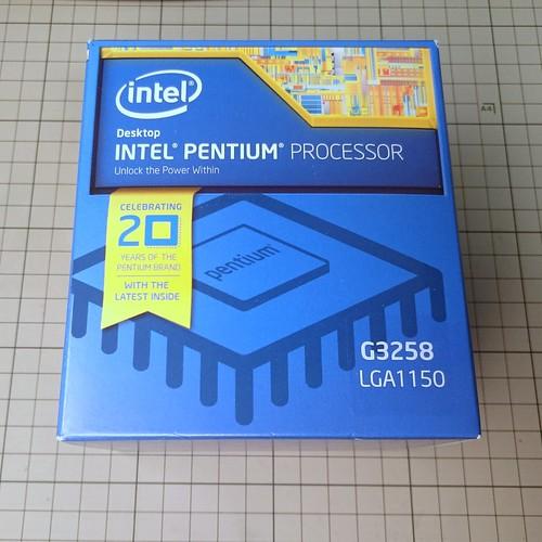 Intel Pentium Processor G3258
