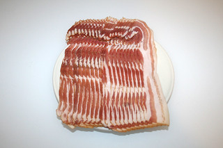 08 - Zutat Bacon / Ingredient bacon
