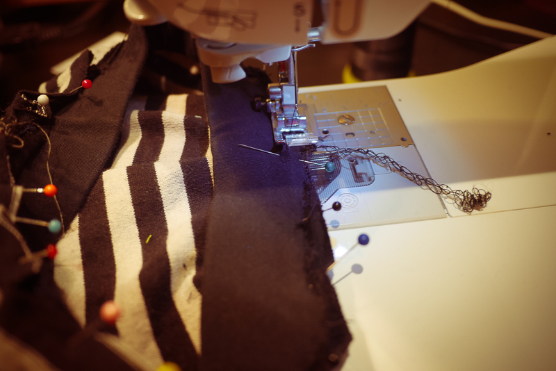 sewing toddler trousers