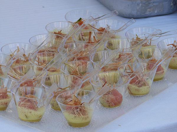 tartare de thon au verjus