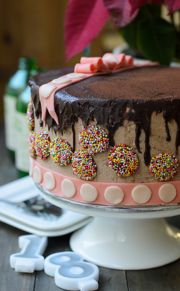 Piñata Chocolate Cake recipe