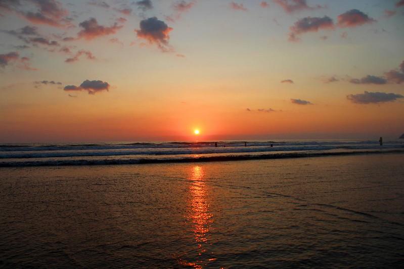 Sunset at Playa Jacó