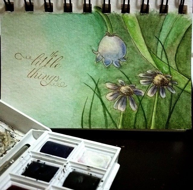 {The Little Things} Watercolor