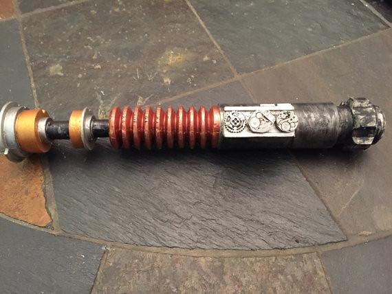 Steampunk Star Wars Lightsaber - Like Clockwork