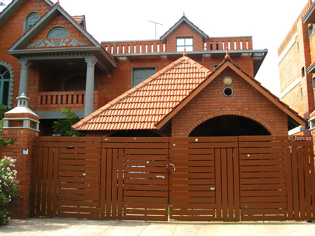 House and Gate