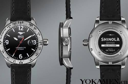 Ford Mustang 50 anniversary limited edition watch