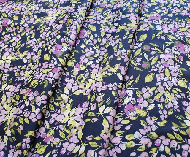 Art Gallery Fabrics Sage Bougainvillea Lilac