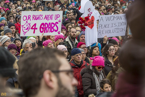manif des femmes women's march montreal 33 | by Eva Blue