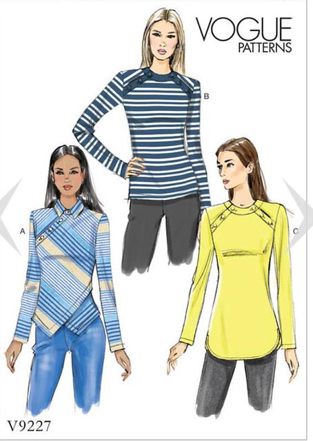 Vogue 9227 pattern env