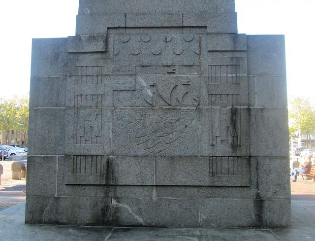 Lorient War Memorial Reverse