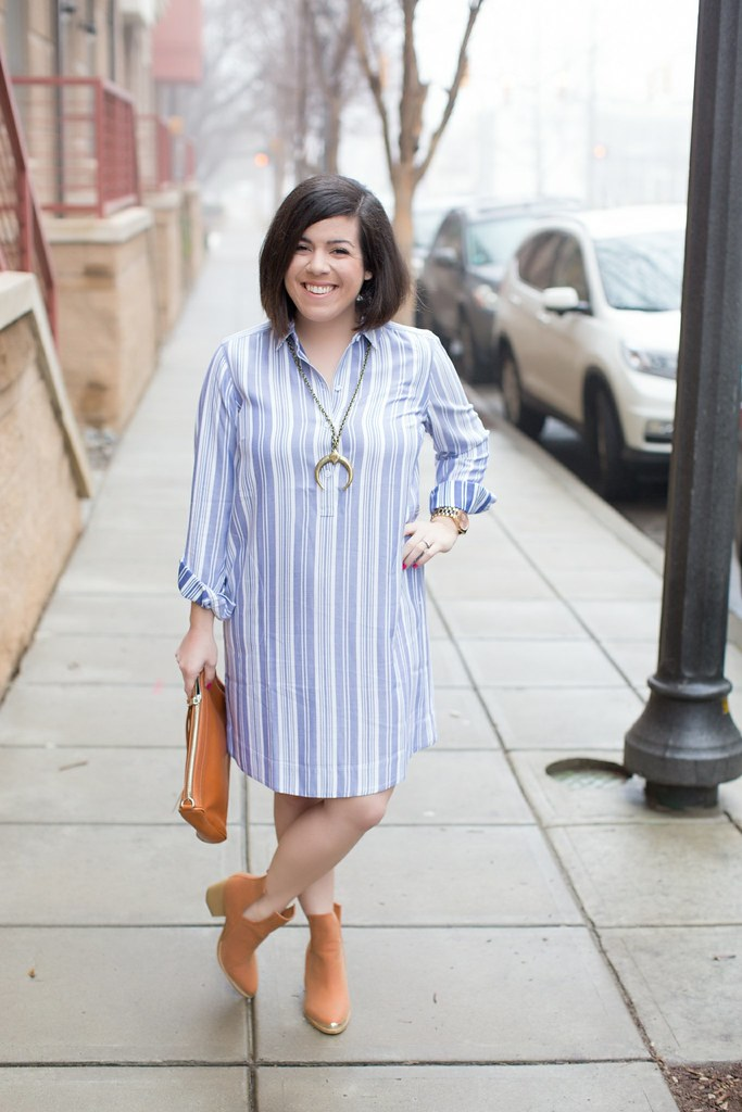 Shirt Dress-Head to Toe Chic-@headtotoechic
