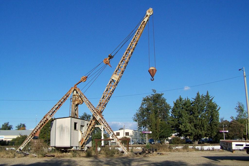 Rail Yard Crane, Disused, Wangaratta, Vic, Aust, 2010 | Flickr
