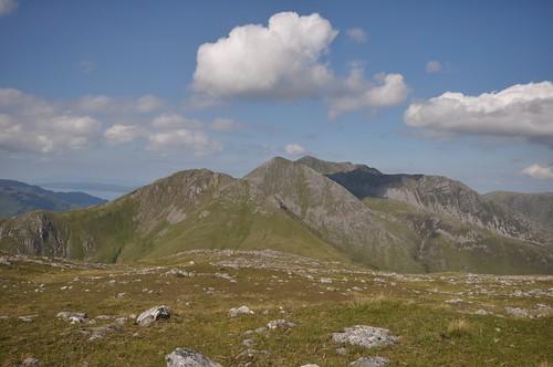 Beinn na h-Eaglaise & Beinn Sgritheall from Beinn nan Caorach